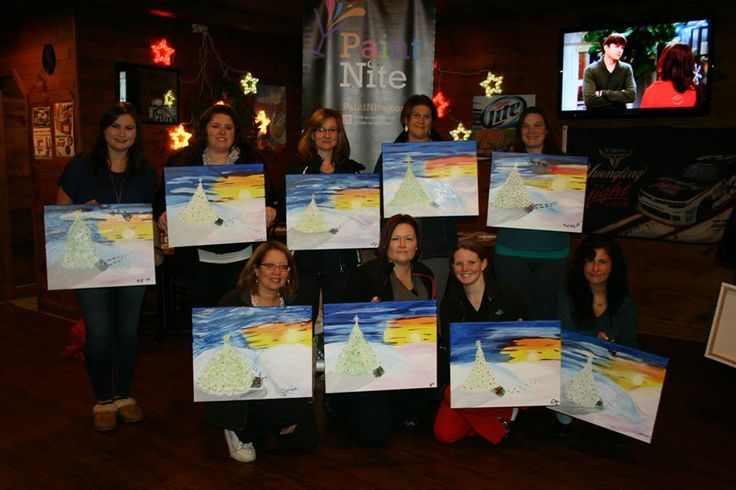 Paint Nights every Thursday at 7pm