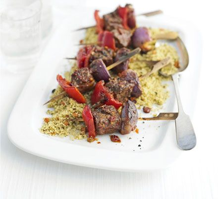 Jazz up lamb with Moroccan spices for a special after-work supper - it's low-fat too
