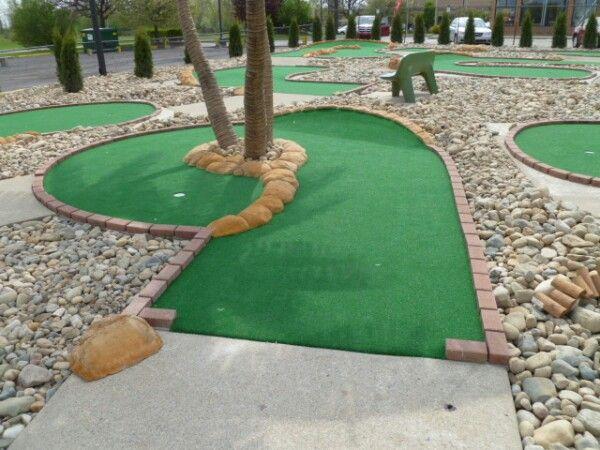 mini golf fun center pinterest