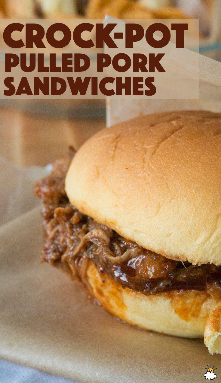 Easy Crock-Pot Pulled Pork Sandwiches