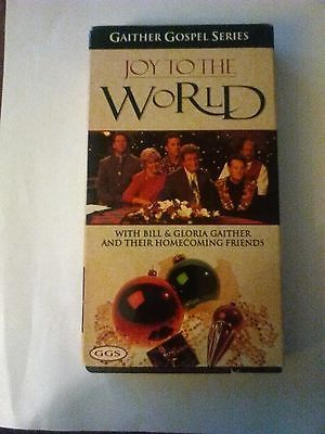 VHS: GAITHER GOSPEL SERIES JOY TO THE WORLD/Collectable