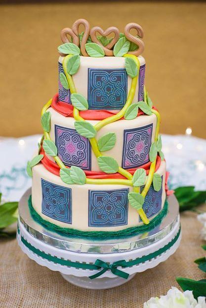 Hmong Wedding Cake