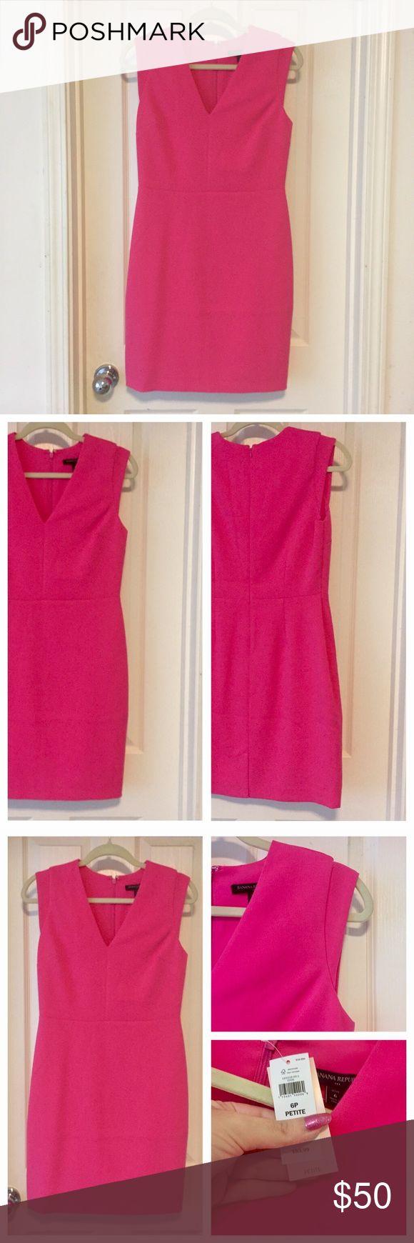 Banana Republic Pink Dress, Size 6 Petite! ⭐️Markdown⭐️ anana Republic, Pink Dress, NWT, Size 6P. Banana Republic Dresses