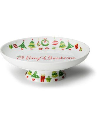 Buy Holly Jolly Xmas Comport 23.5cm from David Jones at Westfield or buy online from the David Jones website.