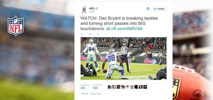 Twitter y la NFL sellan acuerdo de Streaming en VIVO #Noticias