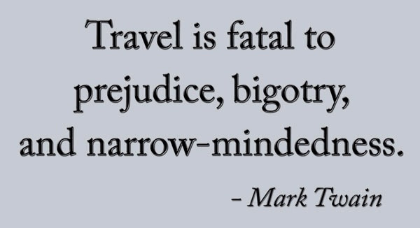 "travel traveler and mark twain Mark twain, travel books, and tourism  travel letters of mark twain's editor and friend, joe goodman""  the mind of the traveler new york: basic books ."