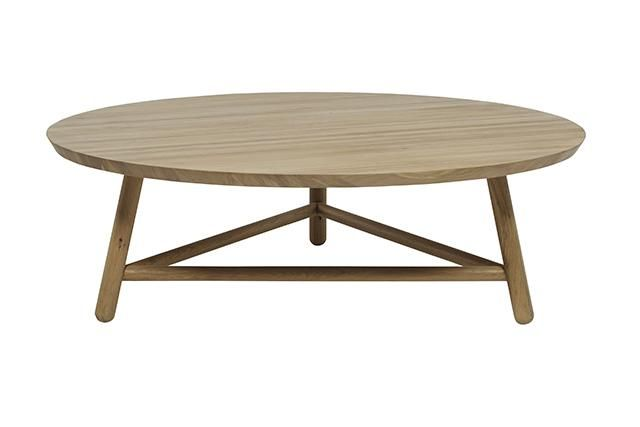 GlobeWest - Linea Tri Base Coffee Tables