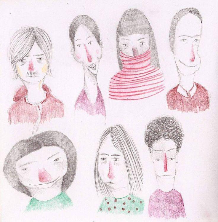 Maria Velat sketchbook