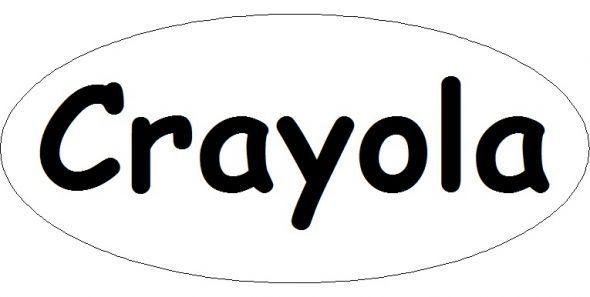 printable crayola logo - Crayola Sign