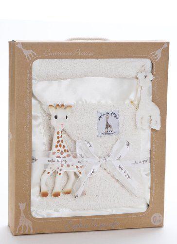 Gift Set with Sophie Teether and Blanket Vulli Sophie Giraffe Teether - bedtimebaby.com