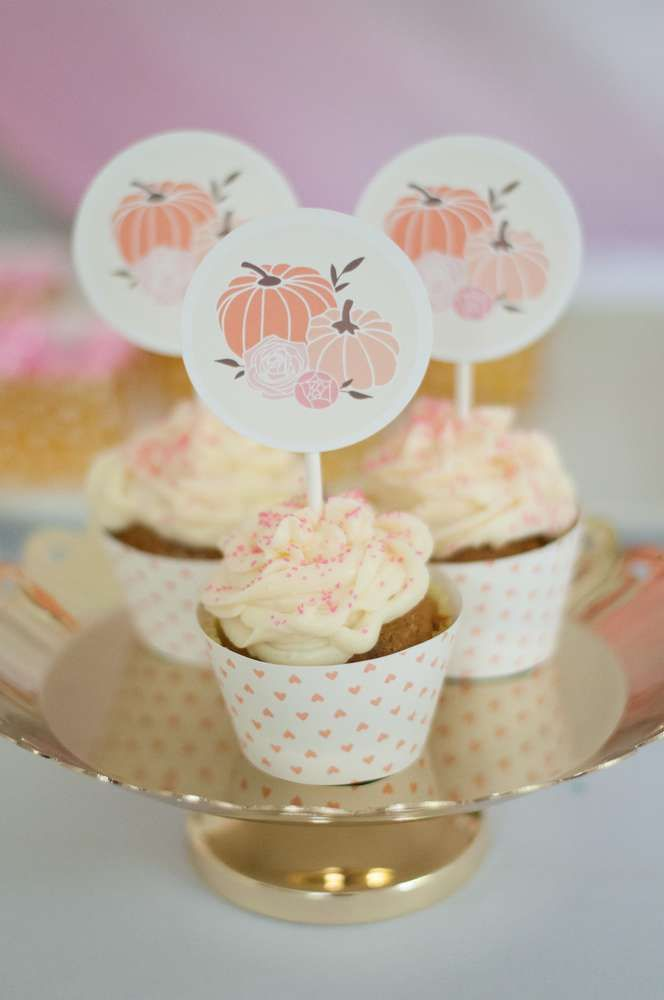 Our Little Pumpkin First Birthday | CatchMyParty.com