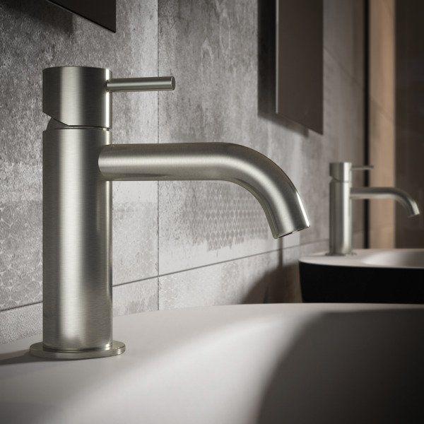 Hotbath Archie Wastafelmengkraan Zonder Waste Rvs Showroommodel In 2021 Rvs Badkamer Modern Waterleidingen