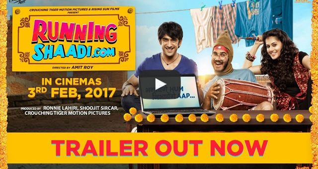 """And here it is! Presenting the official trailer of """"RunningShaadi.Com"""" ft. Amit Sadh & Taapsee Pannu  #RunningShaadi #RunningSHaadiTrailer #BhagayengeHumNibhayengeAap Abundantia Entertainment"""