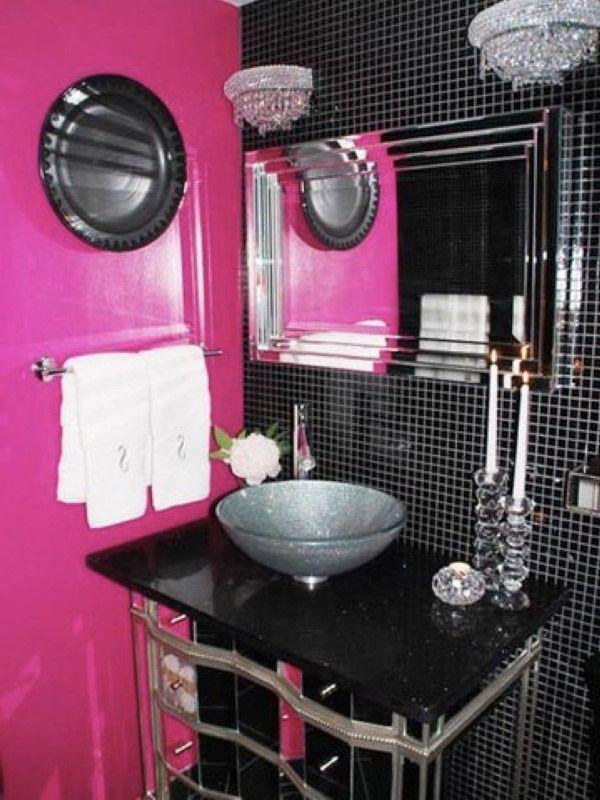 86 best Badezimmer images on Pinterest Bathroom ideas, Bathrooms - badezimmer pink