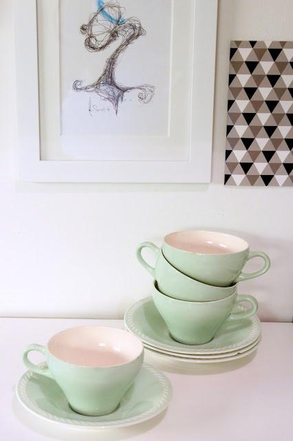 Figgjo Sissel - dette e favoritten, blandet med den blåe og evnt rosa<3