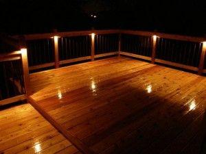 114 best deck and dock lighting images on pinterest outdoor deck lights aloadofball Image collections