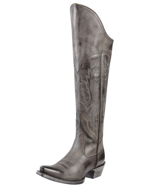 These are the ones I want the very, very most!! Simple yet divine. <3 What a perfect Christmas gift these would be!  ( j/k, they're too expensive. But a girl can dream!!)  -  Women's Murrietta Boot by Ariat - Old West Black  $299.95