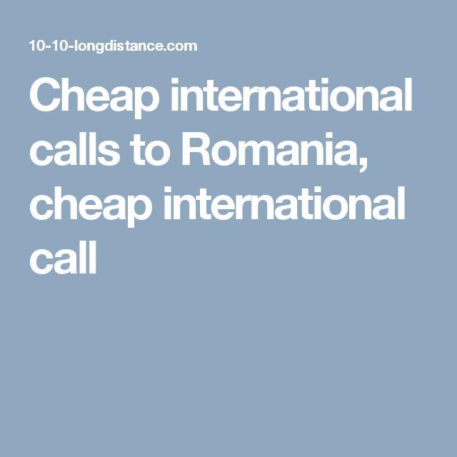 Cheap   international calls to Romania, cheap international call