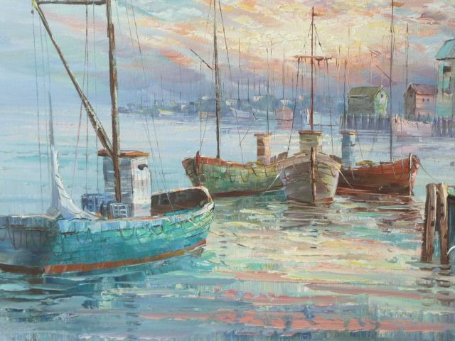 20 best images about boats on pinterest the old acrylic for Fishing boat painting