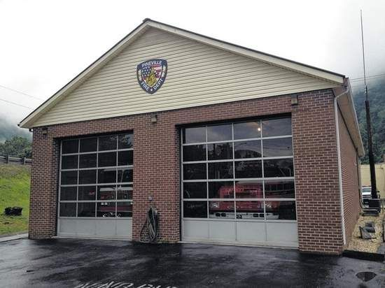 William S. Tribell   Daily NewsPineville Fire Department's ISO evaluation showed a three-point improvement with a new ranking of three. They have had a rating of six since 1983. The new rating ranks Pineville among the top 4,000 fire departments in the nation. This will mean lower insurance rates for the area.