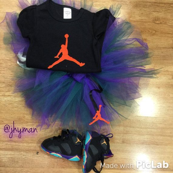 Jordan TuTu set by SoleHappiness on Etsy