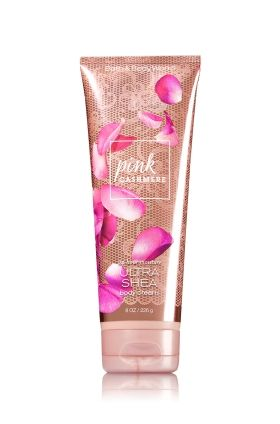 Pink Cashmere Ultra Shea Body Cream - Signature Collection - Bath & Body Works