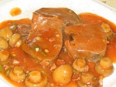 """750g vous propose la recette """"Langue de boeuf en sauce"""" publiée par monjet."""