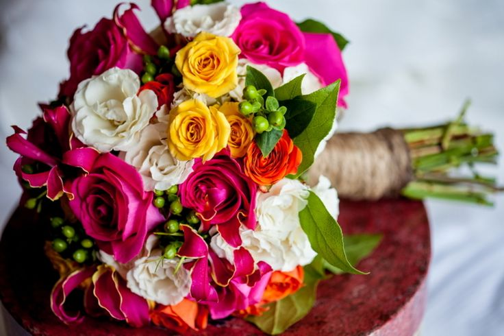 432 Best BRIGHT WEDDING COLORS Images On Pinterest