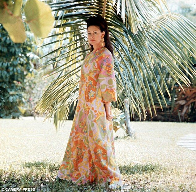 Margaret Love The High Life She Made Many Visits To Exclusive Private Island Mustique