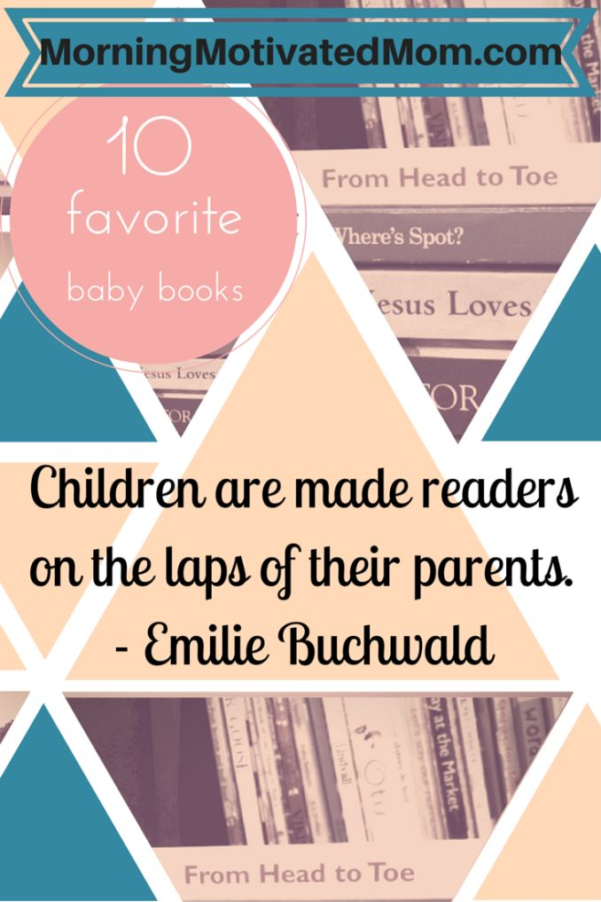 Children are made readers on the laps of their parents
