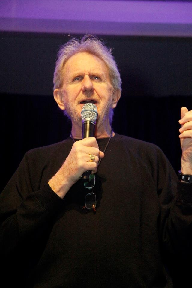 Rene Auberjonois (Odo from Deep Space Nine) during his Q at Hal-Con 2012.