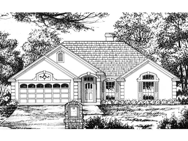 160 Best House Plans Images On Pinterest Floor Plans Country Home Plans And Country Homes