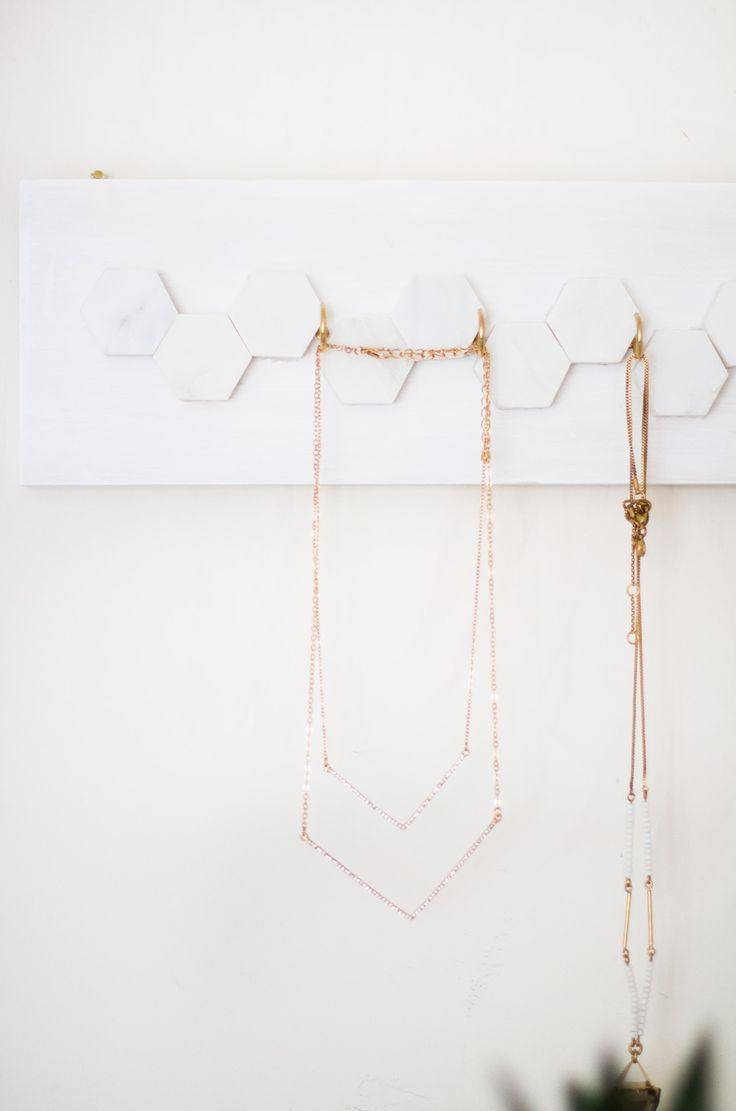 DIY Jewelry Hanger Tutorial