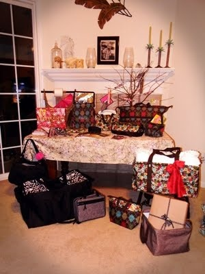 Thirty-One Party display i so want all of this