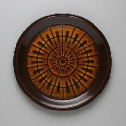 2013/16/29 Dinner plate, stoneware, maker unknown, Japan, c.1975 - Powerhouse Museum Collection