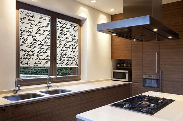 Stylowa roleta do kuchni. Podkreśl charakter pomieszczenia z deKEA