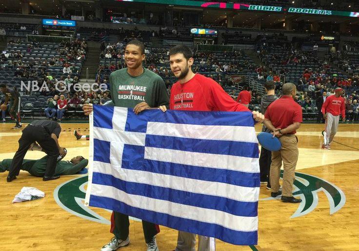 Houston Rockets - Milwaukee Bucks  Kostas Papanikolaou - Giannis Antetokounmpo