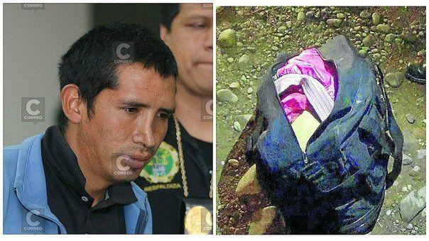 Huancayo: asesino de 'La niña de la maleta' fue hallado muerto