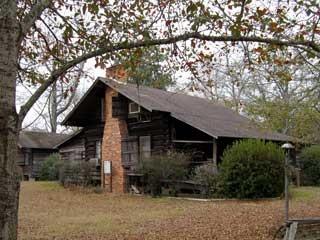 McLemore Cottage, c. 1864, in Vidalia, Georgia