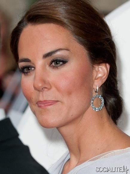 Kate Middleton Periwinkle Roksanda Ilincic Dress UK Creative Industries Reception