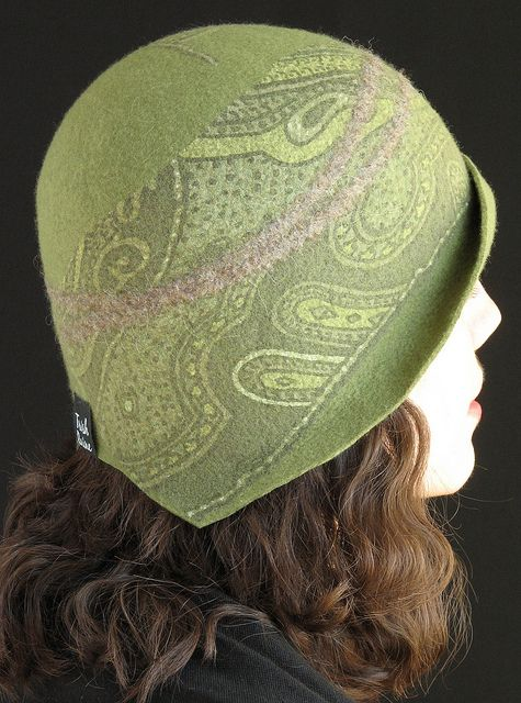 Trish Raine - hand made felted hat - beautiful!