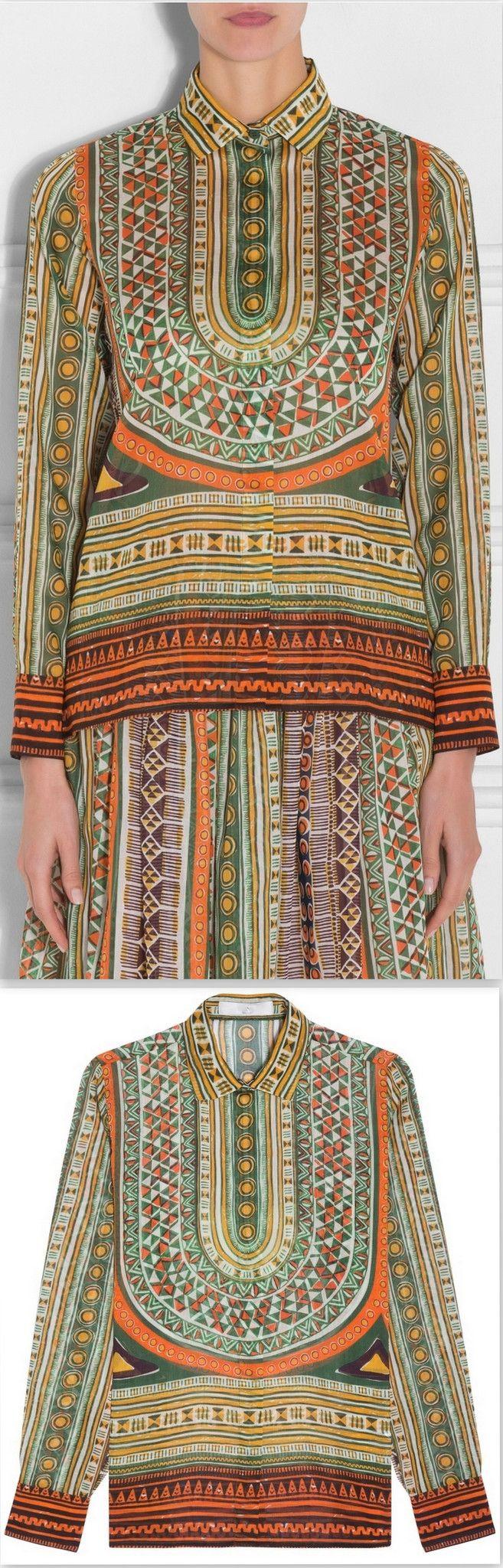 Long Sleeve Tribal Shirt
