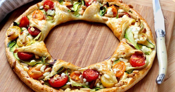 Comment faire une tarte de légumes en couronne ? - Diaporama 750 grammes