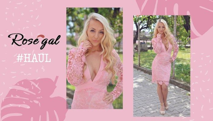 Lace pink dress #Rosegal http://www.rosegal.com/lace-dresses/lace-belted-open-back-plunge-948286.html?lkid=58144  #blogger #blog #romanianblogger #fashion http://ladolcevita-lifestyle.com/2017/04/28/rosegal-haul/
