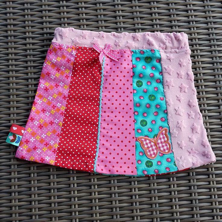 Todler skirt, vrolijk peuter rokje