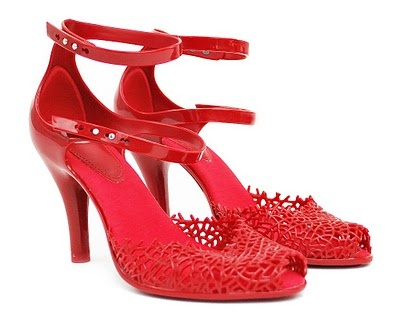 ALTER: New: Melissa Shoes Spring Collection: Coral Reef
