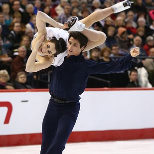 17 Hot Canadian Athletes Who Will Literally Melt The Winter Olympics Pictured here are ice skaters Tessa Virtue and Scott Moir. Here's wishing Team Canada all the best in the 2014 Sochi Winter Olympics!