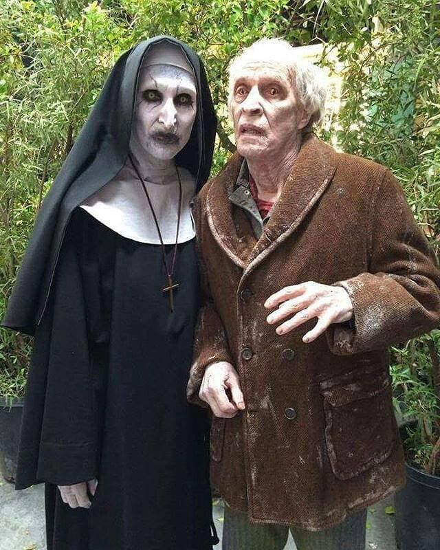 Valak and bill Wilkins from the Conjuring 2