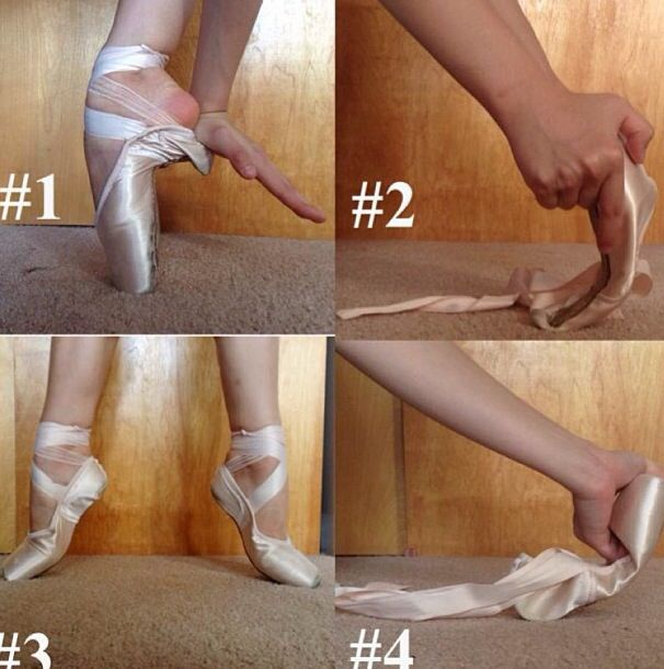 Different methods of breaking in pointe shoes!