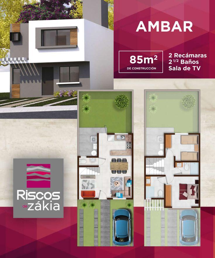 Casa Nueva en Condominio. MODELO AMBAR
